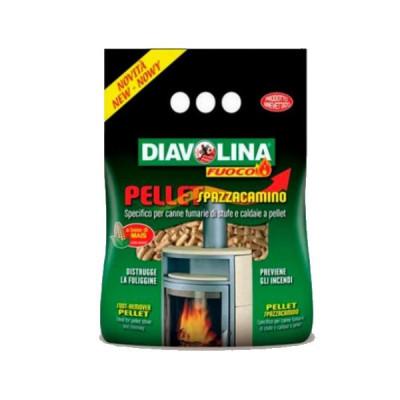 Diavolina Pellet Spazzacamino per stufe e caldaie a Pellet – KG 1,5