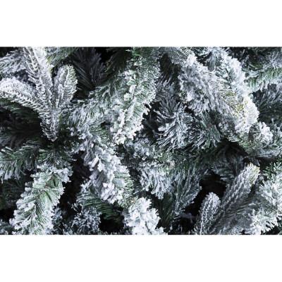 Albero di Natale Slim Praga innevato h180-539 Rami