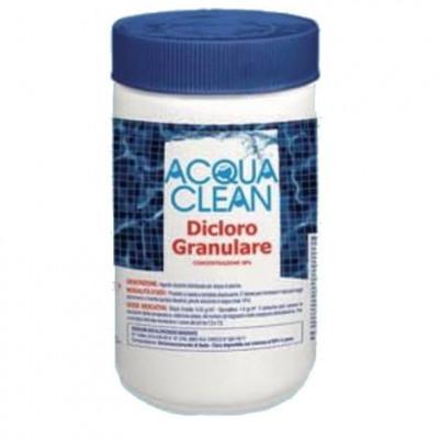 dicloro granulare kg. 1 acqua clean per piscine