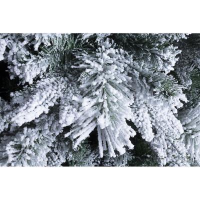 Albero di Natale Slim Dresda innevato h240-1196 rami