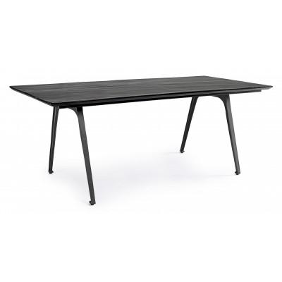 Tavolo Codrin Black Gloss 200X90