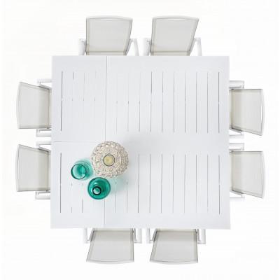 Tavolo Allungabile Konnor 160x110/160 Bianco