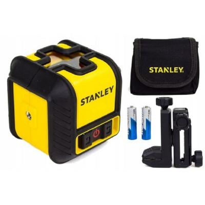 Livella Laser Stanley STHT-77498-1 Cubix raggio rosso