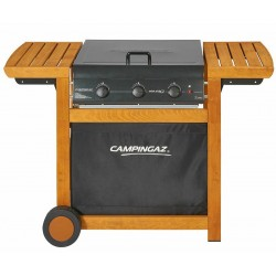 Barbecue gas Campingaz Dual Gas Adelaide 3 Wood